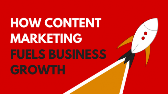 content marketing fuels growth